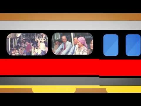 [SMRT SG50 Video Series 2]: North-South East-West and Circle Line trains