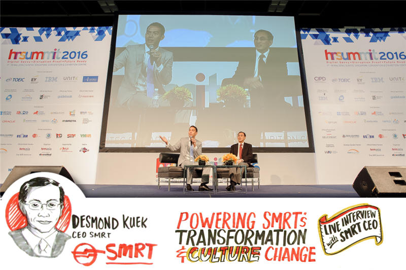 Interview with SMRT CEO at HR Summit 2016 - Overcoming Challenges and Looking Ahead