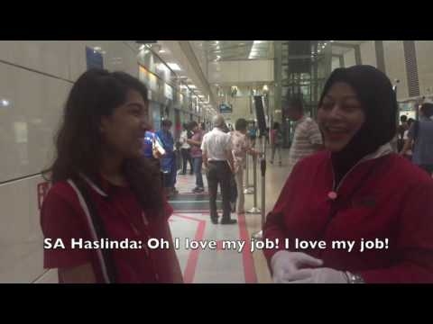 Day in a Life of a Service Ambassador at Bishan Circle Line Station