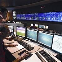 Operations Control Centre at Kim Chuan Depot