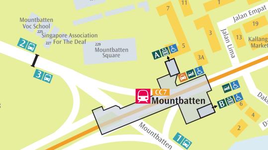 SMRT  Trains  NetworkMap  Mountbatten